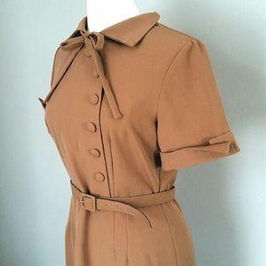 BETTIE PAGE Tatyana Dress 40s Inspired MATILDA XL